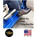 Car Guys Saint Gobain PPF Door Sill Guard Paint Protection Kit for All Cars (Transparent)