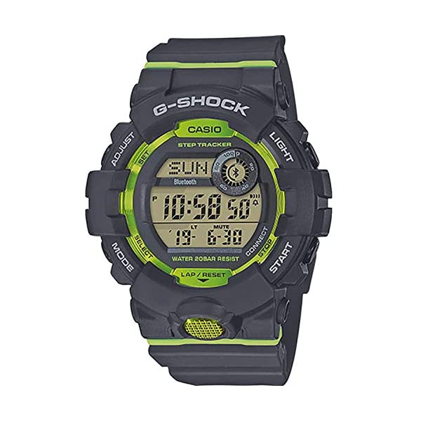 Casio GBD800-8 G-Squad G-Shock Men's Watch Black 48.6mm Resin 2