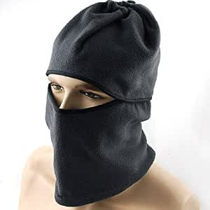 Thermal Fleece Full Face Mask Facemask Balaclava Windproof Neck Warmer Fishing