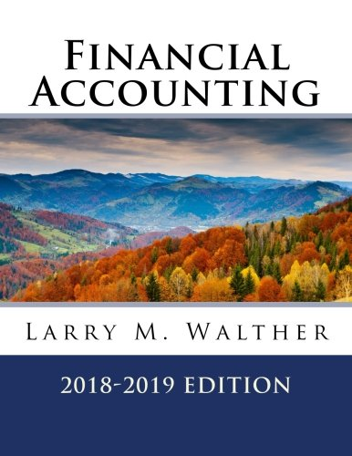 Financial Accounting 2018-2019 Edition