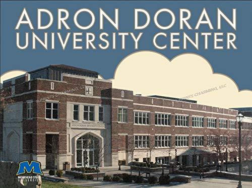 ege Art Deco 14x11 Morehead State Eagles Adron Doran University Center Unframed Poster 14x11 Inches ()