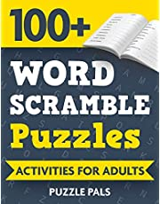 100+ Word Scramble Puzzles: Activities For Adults
