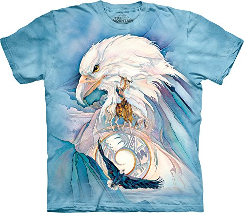 The Mountain Mens Peace At Last T Shirt  Blue  Medium