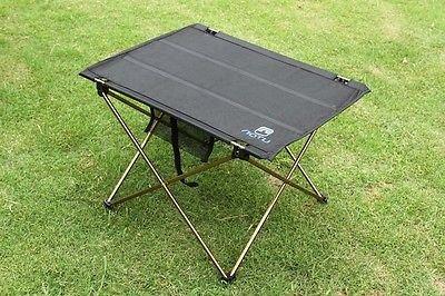 Foldable Folding Table Desk Camping Outdoor Picnic Aluminium Alloy Ultra-light by CampingSurvivals