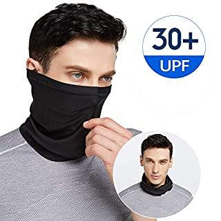 Venswell Summer Neck Gaiter Face Cover Mask, Sun UV Face Scarf Cool Bandana- Fishing Cycling Hiking