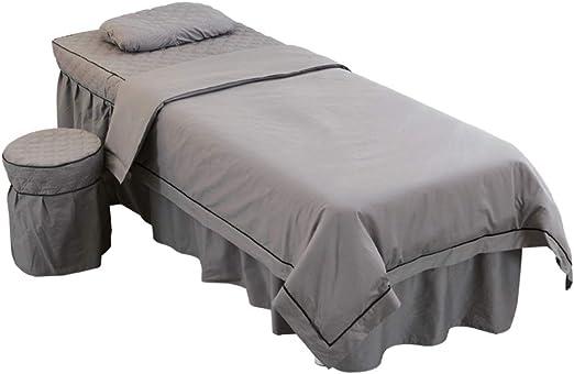 YLHJY Premium Puro algodón SPA Juego de sábanas para Camilla de ...