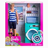 Barbie Ken Laundry Playset with Ken