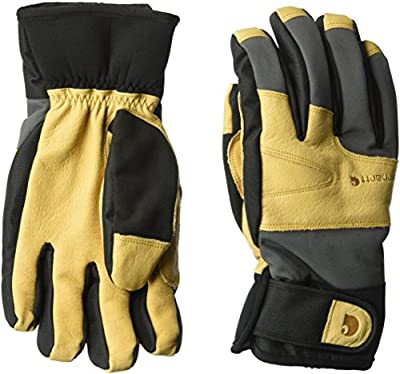Carhartt Men's Winter Dex Cow Grain Leather Trim Glove