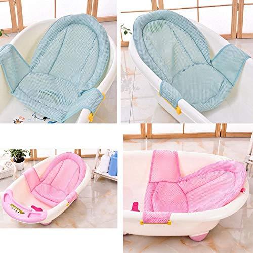 OYTRO Infant Adjustable Tub Non-Slip T-Shaped Shower Net Baby Bath Mesh Bathing Tubs Seats Kids Bathroom Accessory from OYTRO