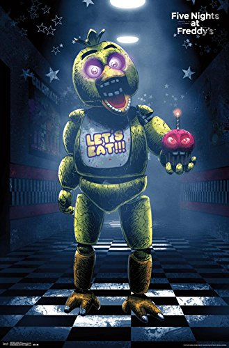 Trends International Five Nights At Freddy's Classic Chica Wall Poster