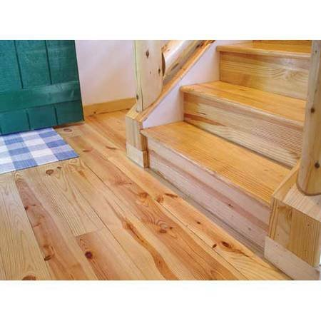 - Prefinished Select Heart Pine Flooring-Solid 3/4