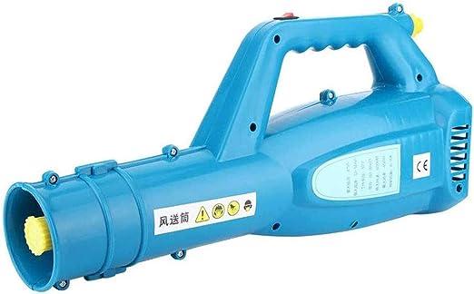 SJASD Pulverizador De Presión Jet del Ventilador del Soplador, Soplador De Jardín Herbicida Pulverizador, Batería De Litio Portátil Máquina Fogger del Ventilador, para Insecticida Agrícola: Amazon.es: Hogar
