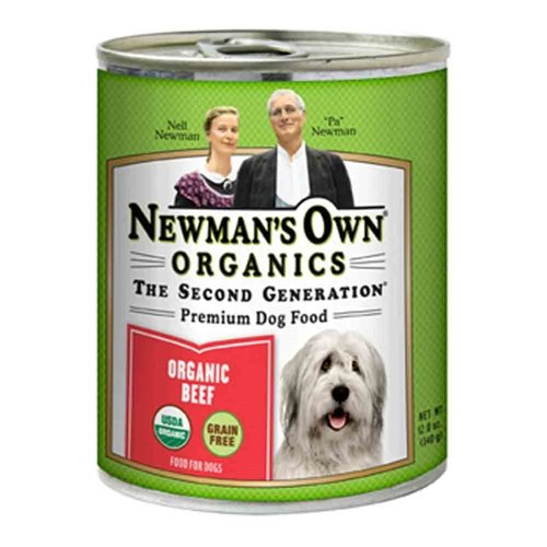 Newman's Own Grain-Free Can Dog Beef 12 oz Case 12