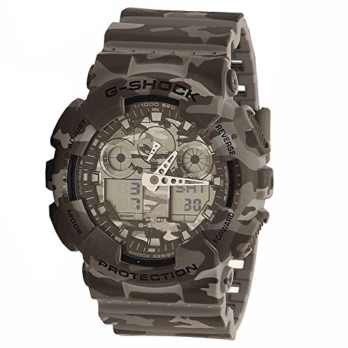 G Shock Mens GA 100 Camouflage Watch