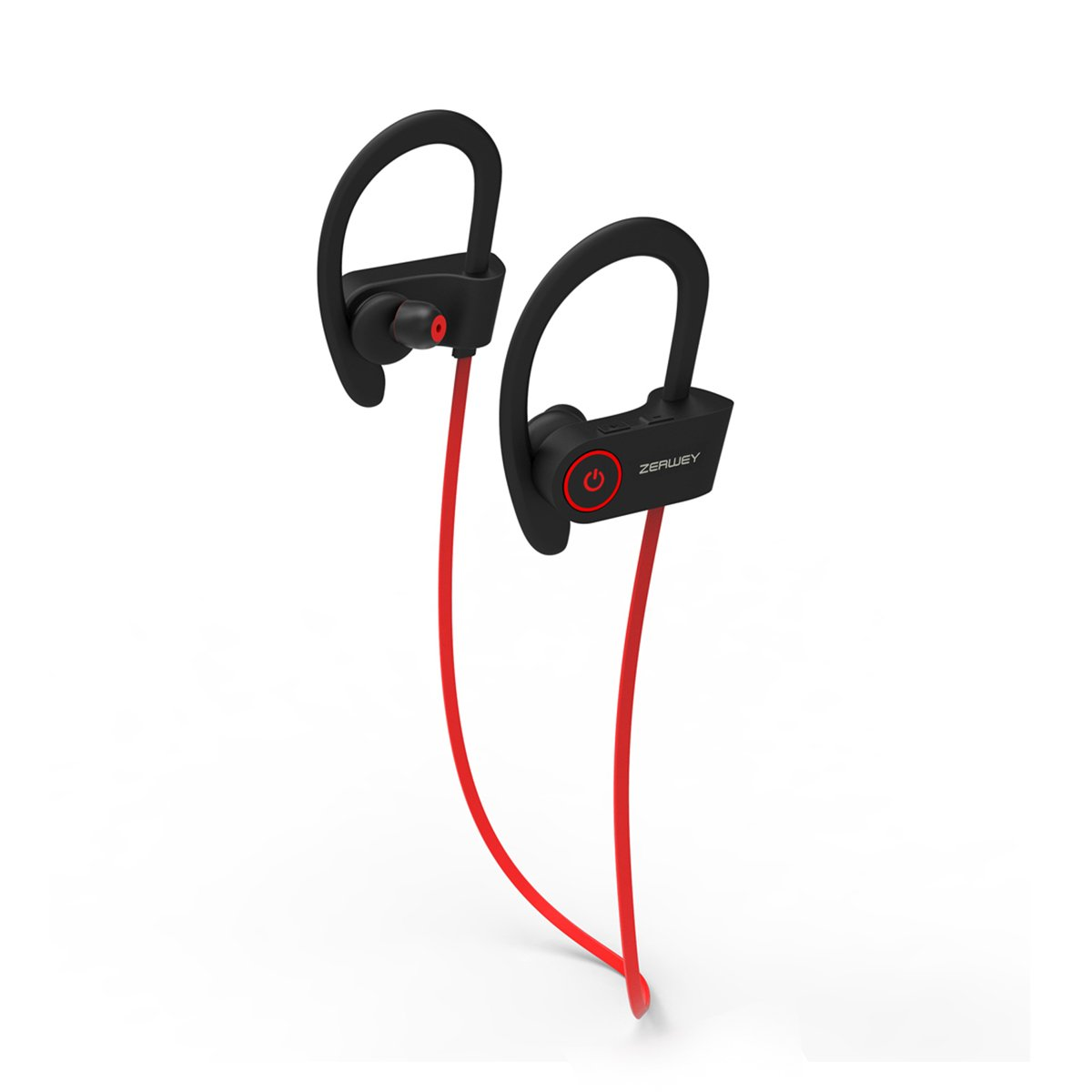 ZERWEY Bluetooth Headphones Best Wireless Sports Earphones HD Stereo Sweatproof Earbuds