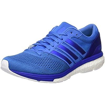 adidas Adizero Boston 6, Chaussures de Running Compétition Femme, Noble Indigo White Raw Steel, 43.3 EU