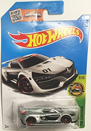 Hot Wheels 2016 HW Exotics Renault Sport R.S. 01 79/250, Silver Renault Le Car