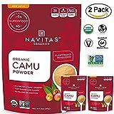 Navitas Organics Raw Camu Camu Powder, 3 oz. Bags (Pack of 2) - Superfood, USDA Organic, Non-GMO, Gluten-Free,Vegan, kosher