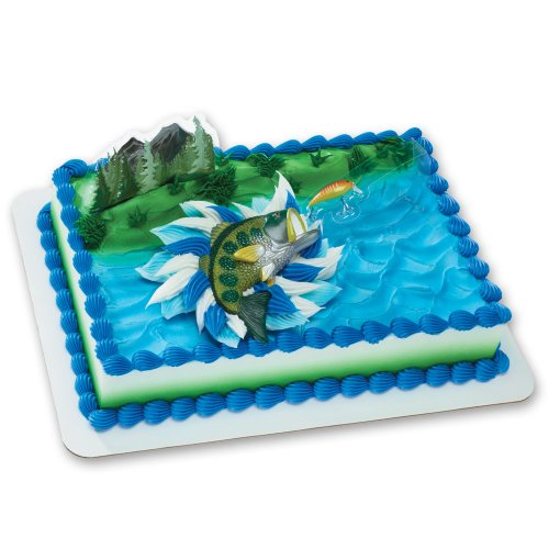 Catching the Big One DecoSet Cake Decoration ()