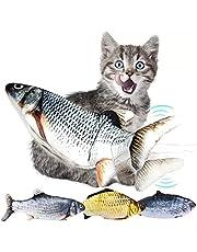 Brinquedo Interativo Para Gatos Peixe Com Simulação Real