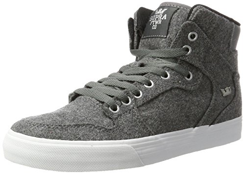 Supra Vaider LC Sneaker Kohle Wolle / Weiß