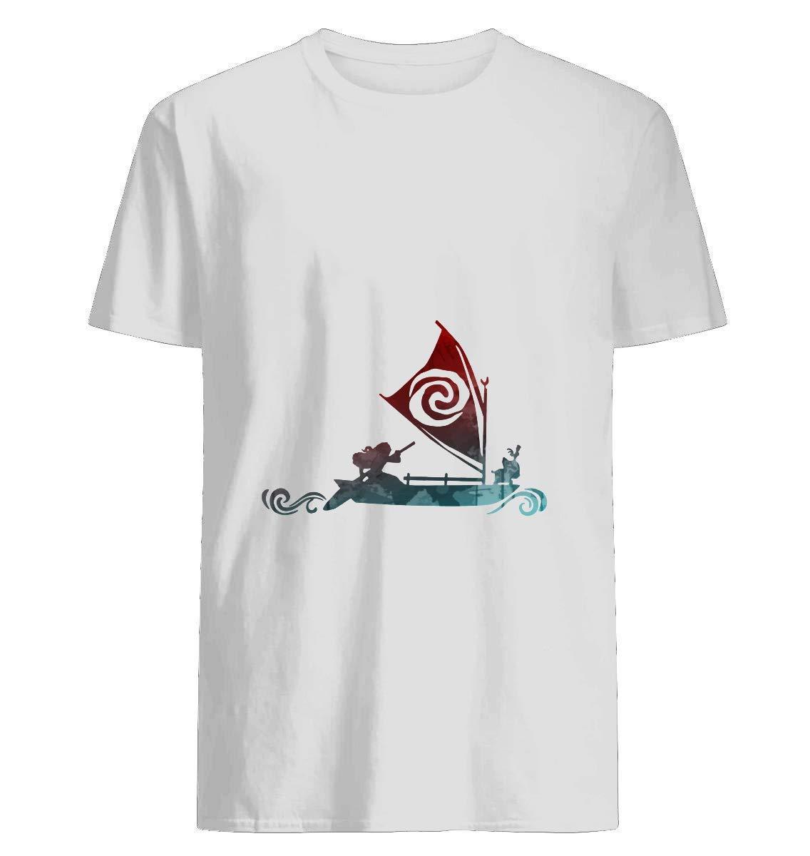 Boat Inspired Silhouette T Shirt For Unisex