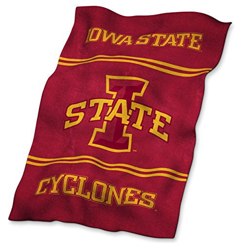 Logo Brands NCAA Iowa State Cyclones Ultrasoft Blanket