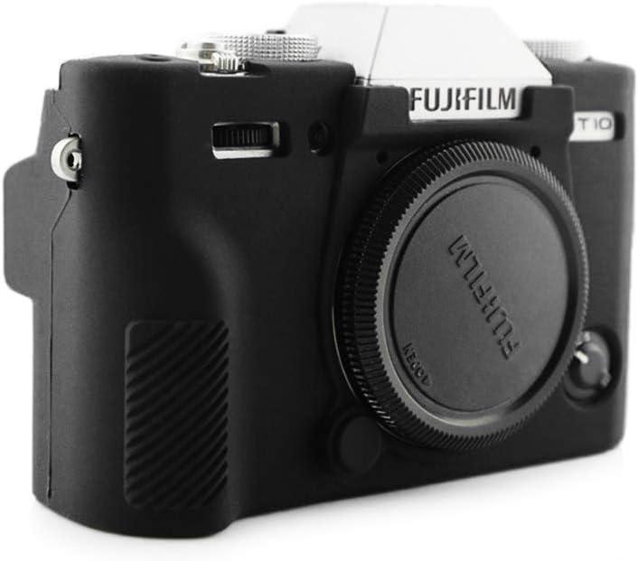 kinokoo Silicone Cover Camera Case Compatible for Fujifilm X-T10 X-T20 Camera black