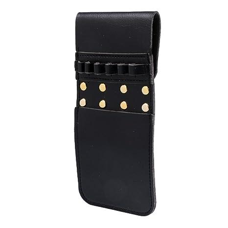 Portable Archery Arrow Quiver Side Hip Belt Waist Holder Bag Pocket,Black