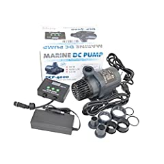 Jebao 2018 new DCP pumps give you enhanced performance and precise control of flow through your aquarium's reactors, sump, or closed loop system. With complete control through the DCP Controller, you can control the flow of the pump, enter fe...