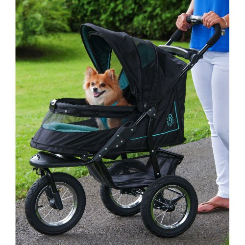 Pet Gear No Zip Nv Pet Stroller Zipperless Entry Sky