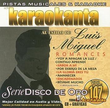 Various - Karaokanta KAR-1847 - Disco De Oro - Romances Spanish CDG - Amazon.com Music