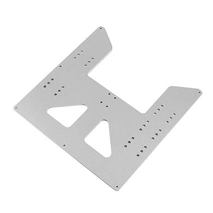 Festnight Accesorios de impresora 3D Placa base de cama caliente ...