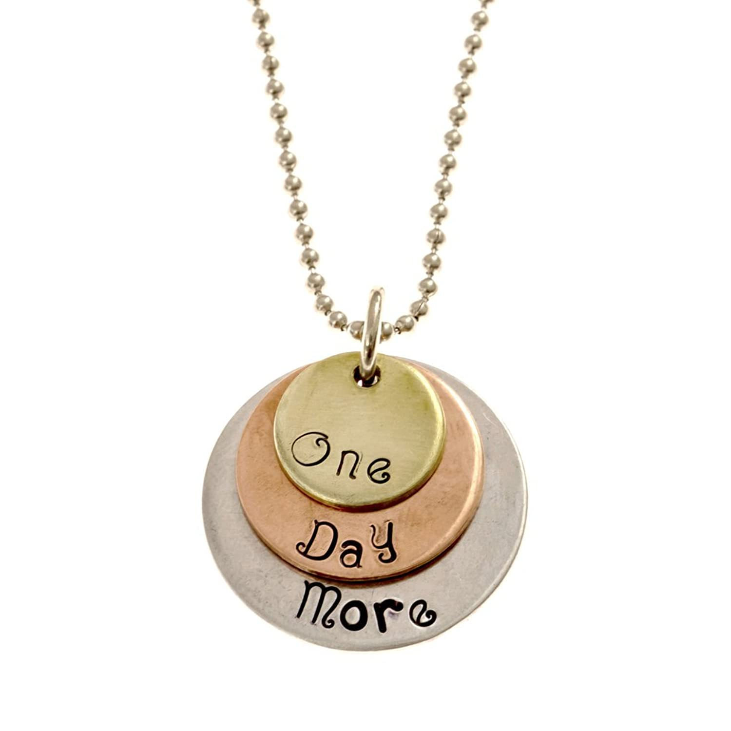 'One Day More' Tri-Layer Necklace - Broadway Musical Inspired
