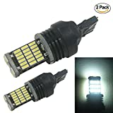 ZHOL 2PCS 4014 45-SMD 7443 7440 7441 7444 992 LED Car Light Bulb White,750LM,5500K