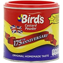 Bird's Custard Powder, 10.6-Ounce Canisters (Pack of 6)