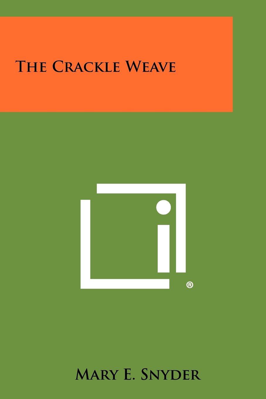 Download The Crackle Weave pdf epub