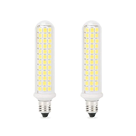 E11 Led Bulbs Dimmable 10w 100w Ceiling Fan Halogen Bulb Equivalent 100w Halogen Bulbs Replacement Jd E11 Mini Candelabra Base Dayligh White