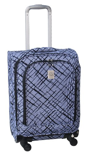 jenni-chan-brush-strokes-360-quattro-21-inch-luggage-blue-one-size