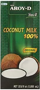 AROY-D 100% Coconut Milk - 33.8 oz packages (3-pack)