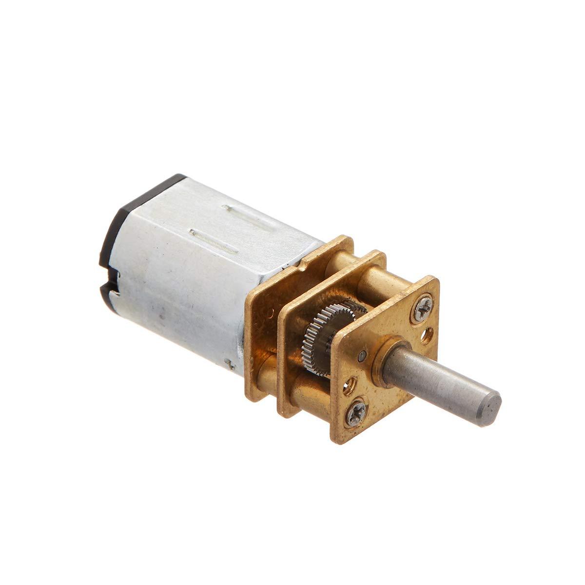 1Pc DC6V 050 Micro Gear Motor Metar Gear Reducer Motor For Car Model DIY