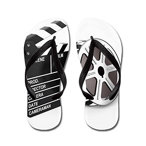 1b9ab80e876f free shipping CafePress - Film And Clap Board - Video Icon - Flip Flops