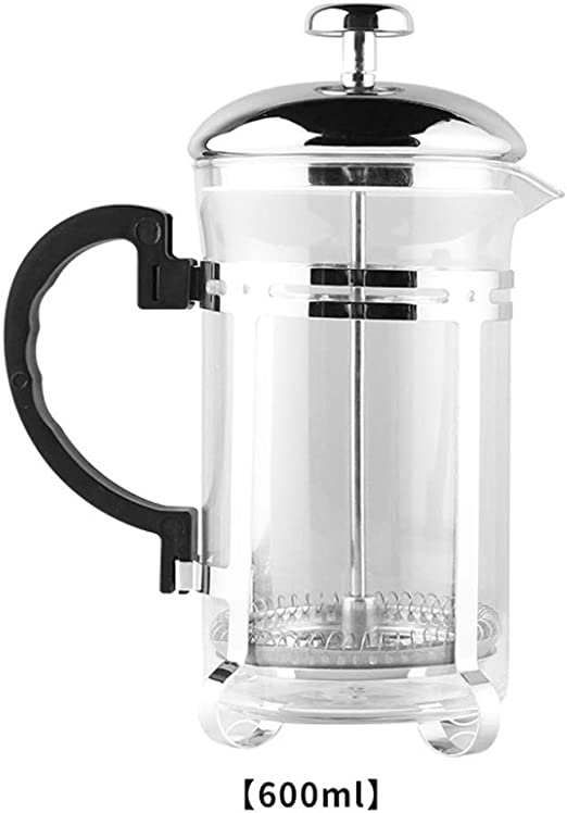 WENFINSP 600ml French Press Cafetera con sistema de filtración ...