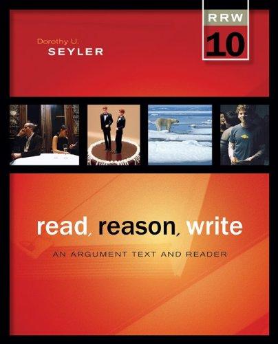 Read Reason Write (And Read Reason Write)