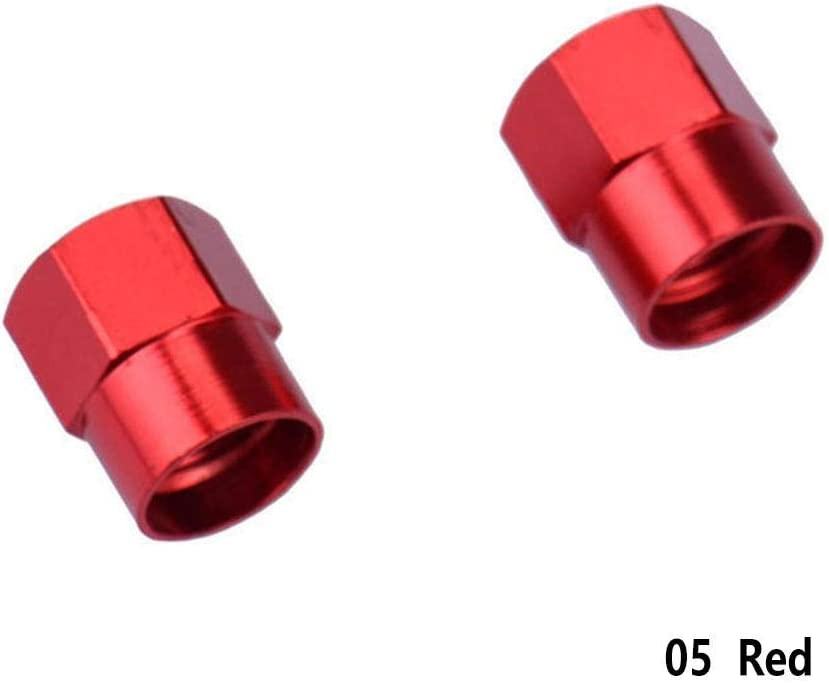 RUNMIND 8 Pcs//Pack Tire Valve Caps Silver Premium Metal Rubber Seal Tire Valve Stem Caps Dust Proof Covers