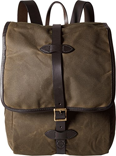 Filson Unisex Tin Cloth Backpack Otter Green 1 One Size