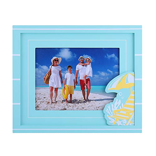 Beautframes 6x8 Picture Frame Made of Solid Wood Real Glass Wall and Tabletop Picture Frames with Handmade Wood Chip