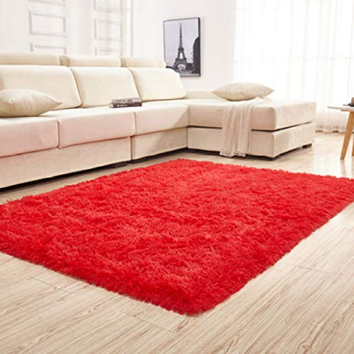 High Density Silk Carpet Living Room Bedroom Coffee Table Bay Window Bedside Blanket Tatami Rug Non-Slip Floor Mat (Melbourne Outdoor Furniture Commercial)