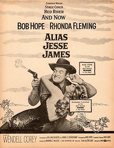 Alias Jesse James Original Movie Herald