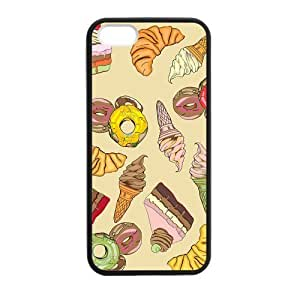 Cake Honeyed Case for iPhone 5 5s protective Durable black case